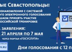 Общероссийская тренировка голосования